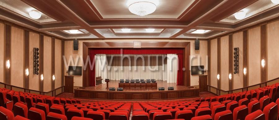 Многофункциональный конференц-зал - конференц-залы под ключ - компания БМ ХНУМ