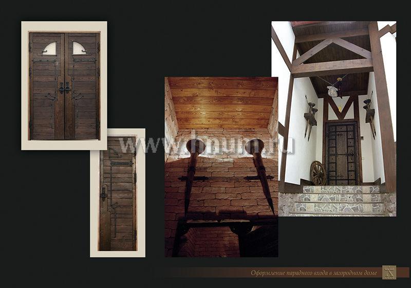 Фотоальбом дизайн-студии - двери и предметы интерьера в частном загородном доме