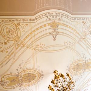 Художественная роспись потолков и потолочных плафонов - изготовление, заказать