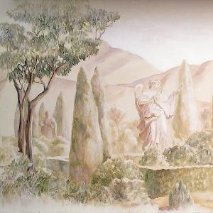 Художественная роспись стен в интерьере и на фасаде - изготовление, заказать