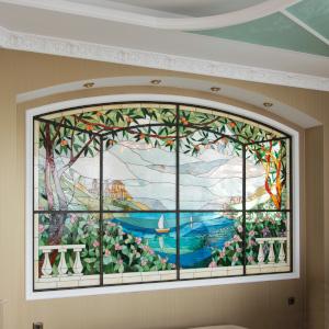Витражные окна - изготовление и разработка