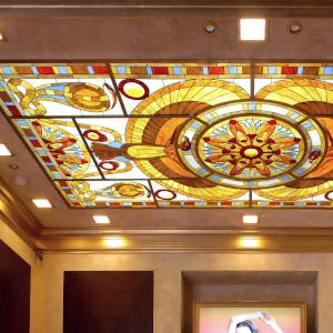 Витражные потолки - изготовление и разработка